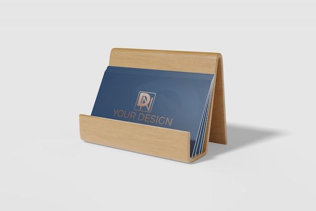 Визитная карточка макет 4
