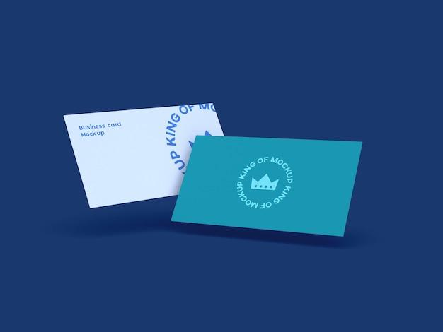 Дизайн макета визитной карточки изолированные