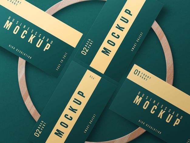 Дизайн макета визитки psd