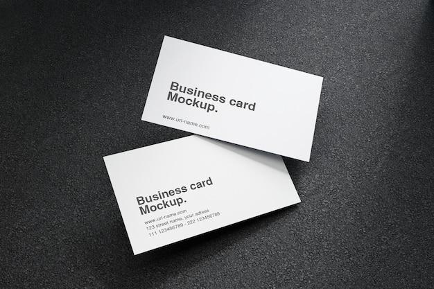 Макет визитки в 3d рендеринге