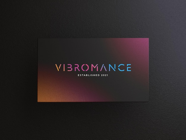 Business card mockup tempalte