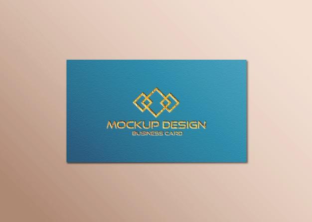 Шаблон макета визитной карточки