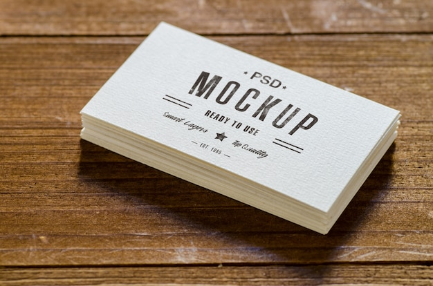 Business Card Mockup Vectors Photos And PSD Files