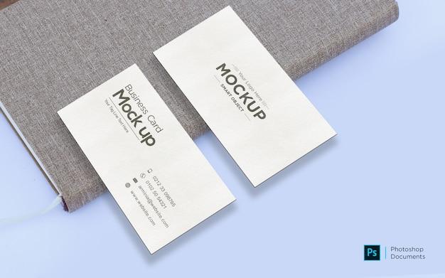 Визитная карточка на шаблон дизайна макета дневника