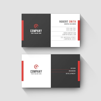 Business card template 0060