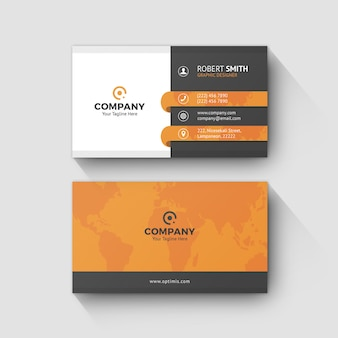 Business card template 0061