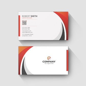Business card template 0073