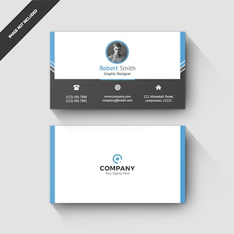 Business card template 0075