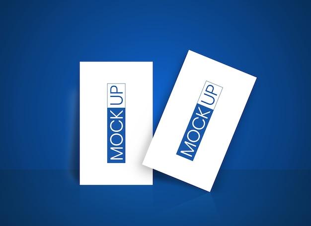 Макет шаблона визитной карточки