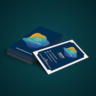 Business cards mock up design