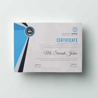 Business certificate template