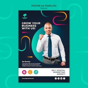 Business company print template
