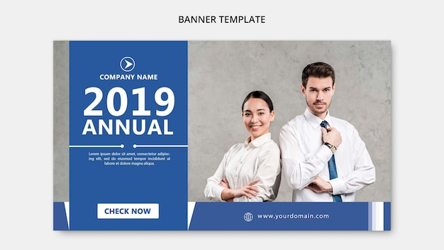 Business concept for corporate template