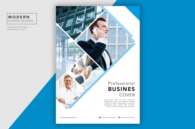 Business cover or flyer