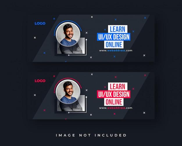 Бизнес facebook обложка или веб-баннер