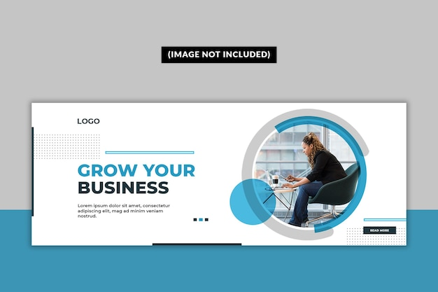 Business facebook cover page template