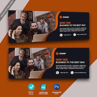 Business facebook cover template