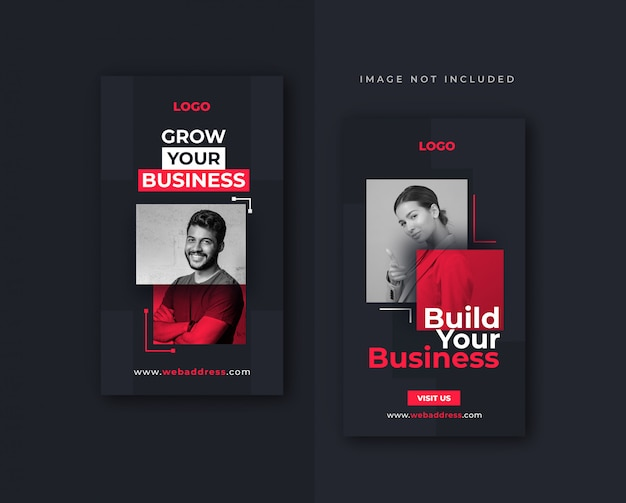 Business facebook or instagram story  design