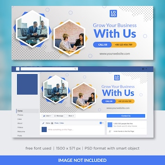 Business facebook timeline cover template