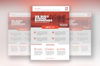 Business Flyer Print Template