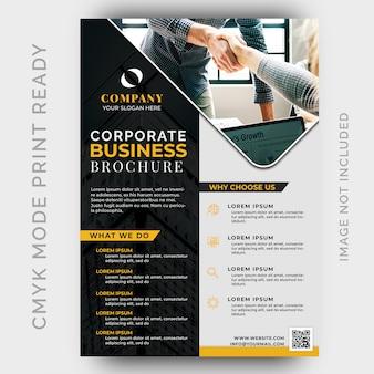 Современное креативное агентство business flyer template