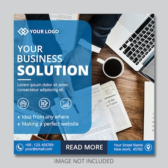 Business instagram post banners