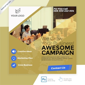 Business marketing facebook cover banner