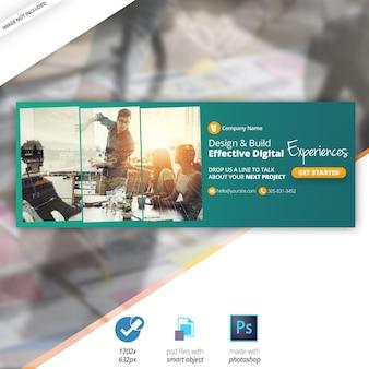 Business Marketing Facebook Timeline Cover Banner