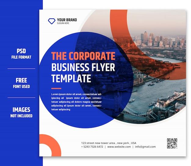 비즈니스 마케팅 소셜 미디어 배너 또는 사각형 전단지 서식 파일 프리미엄 psd-8