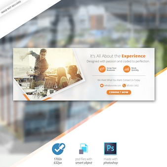 Business marketing web social media facebook cover banner