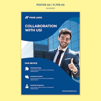 Business poster/flyer template