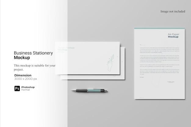 비즈니스 문구 모형