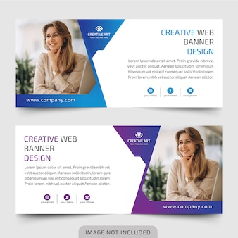 Business web banners design