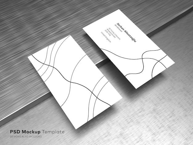 Шаблон макета визитки