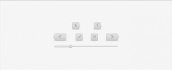 Button facebook grey previous twitter