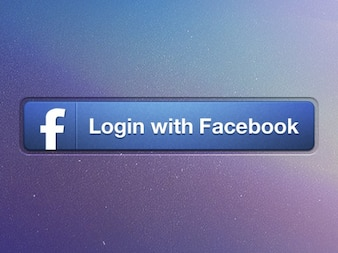 Button facebook ios ipad