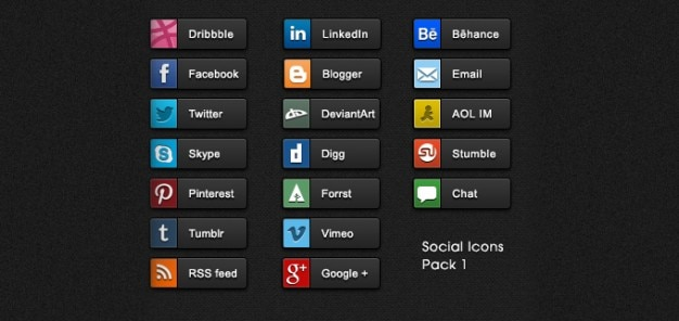 Buttons psd share buttons social icons social media icons