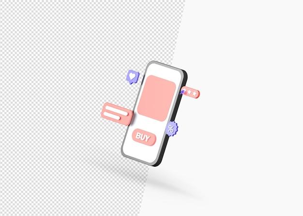3dレンダリングを使用してオンラインで製品を購入する