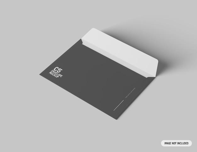 Макет конверта c5 Бесплатные Psd