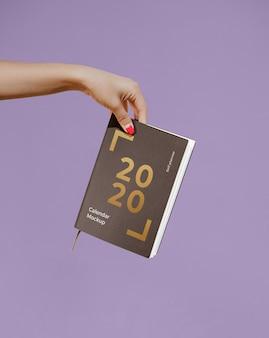 Мокап календаря