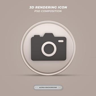Значок камеры в 3d-рендеринге