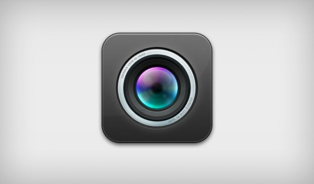 Camera icon ios lens psd