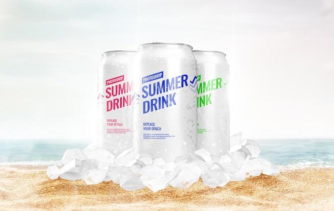 Можно пить рекламу на макете баха