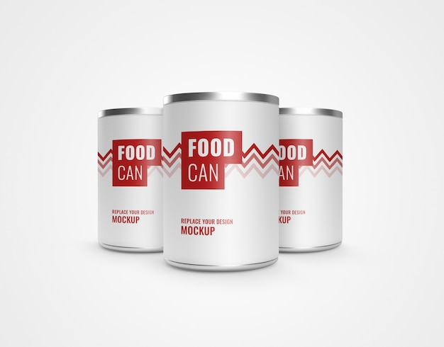 Can food advertising mockup