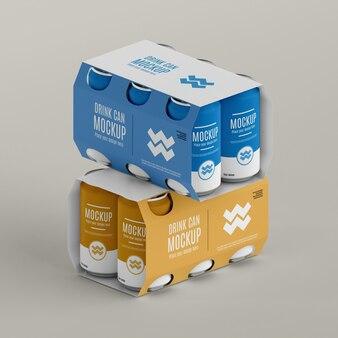 デザインモックアップをパッケージ化できますか