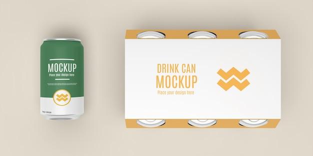 Può il mockup del design dell'imballaggio?
