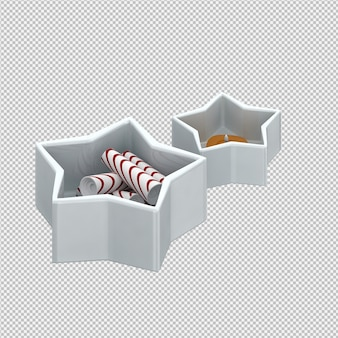 Candies 3d render