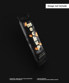 Конфеты шоколадный батончик мокап