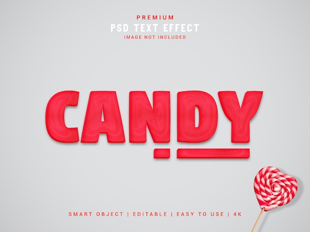 Candy text effect maker