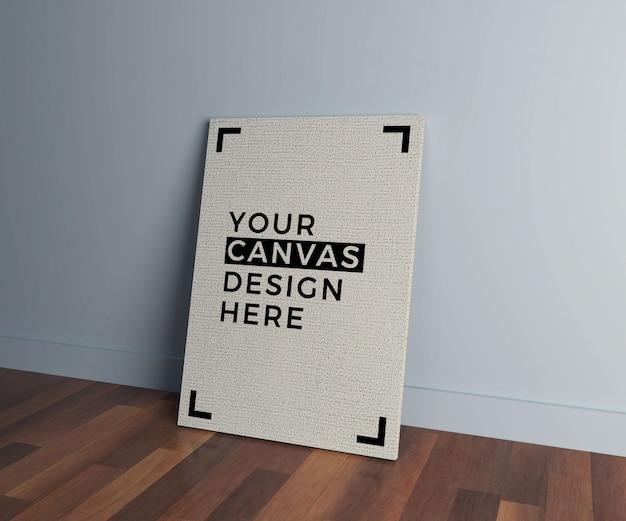 Canvas interior mock up